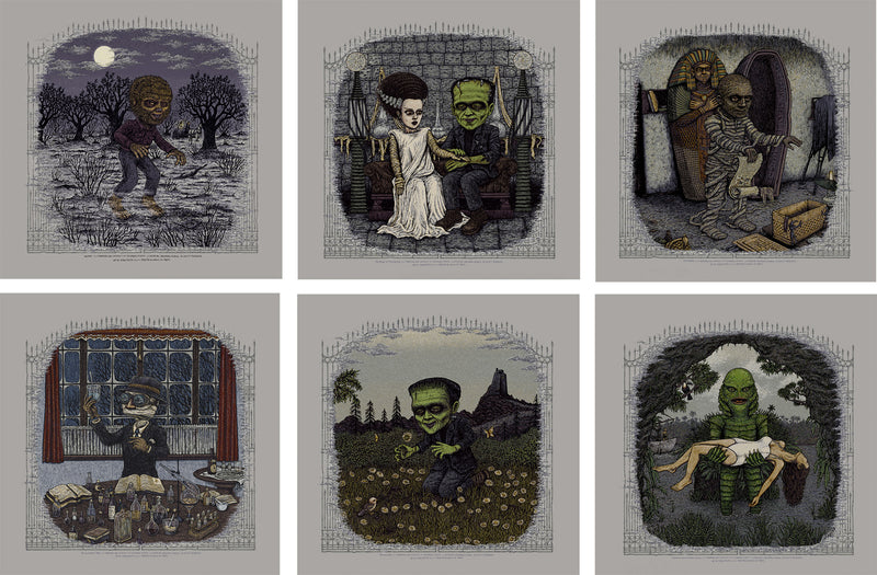 2017 Universal Classic Monster Prints