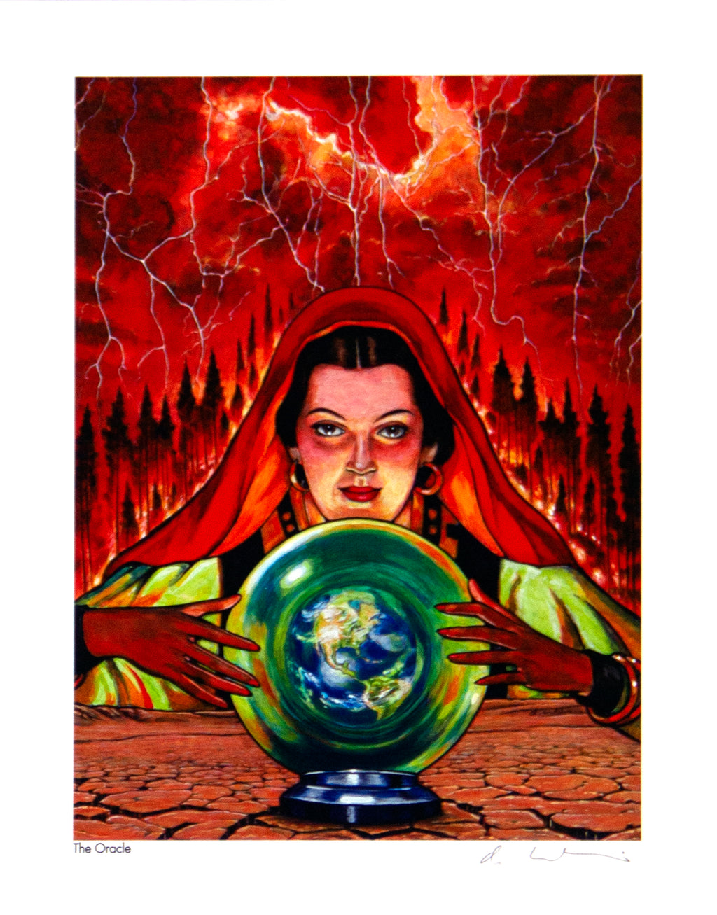 The Oracle Giclée Print