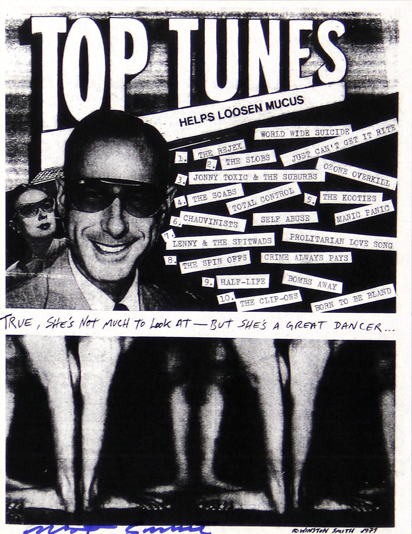 Top Tunes Xerox Flyer