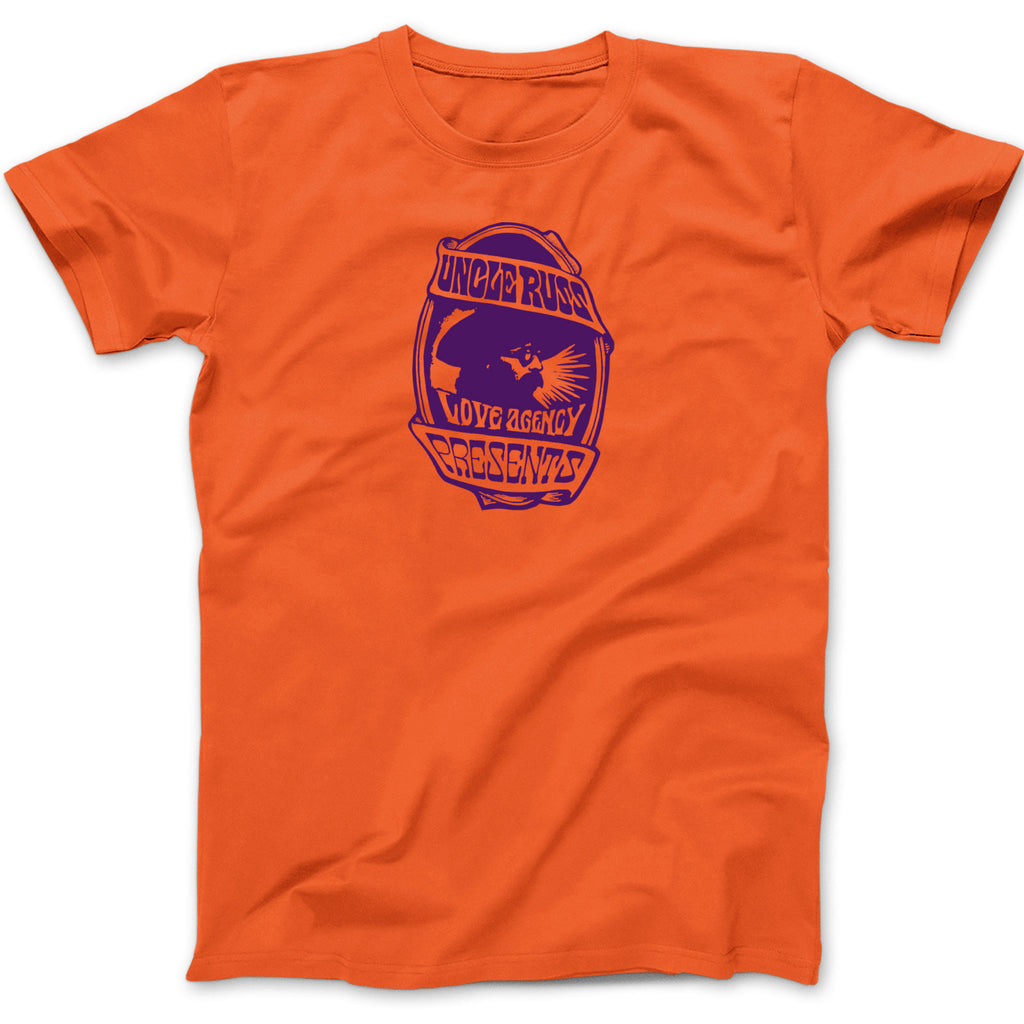Uncle Russ Love Agency Orange Tee