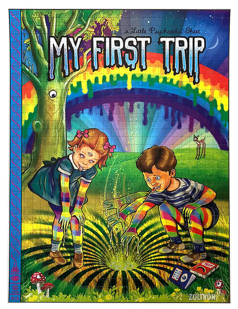 2018 My First Trip Blotter