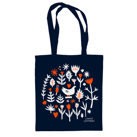 Garden Tote by The Printed Peanut