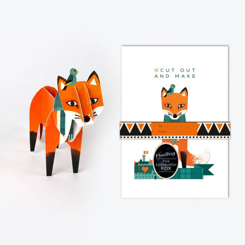 Cut out & Make Fox