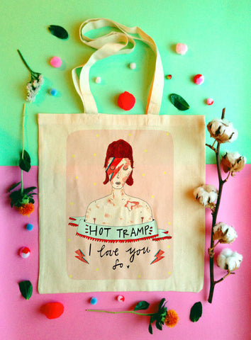 Hot Tramp Tote Bag