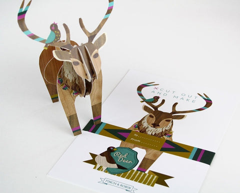 Cut out & Make Stag