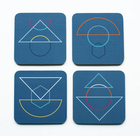 Outline Coasters