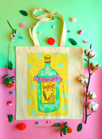 Beautiful Buckfast Tote Bag