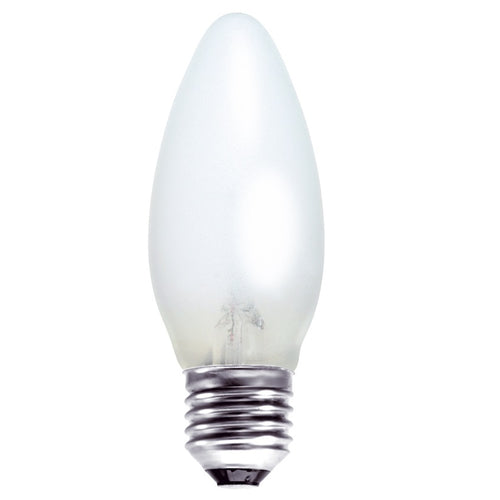 Gé 40 Watt ES/E27 Opal Candle Light Bulb