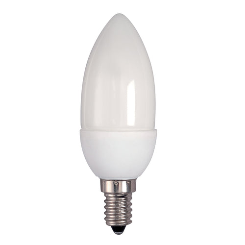 Bell Warm White CFL Low Energy Candle (Various Options)