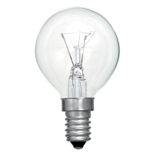 Gé 60 Watt Clear SES/E14 Golfball Light Bulb