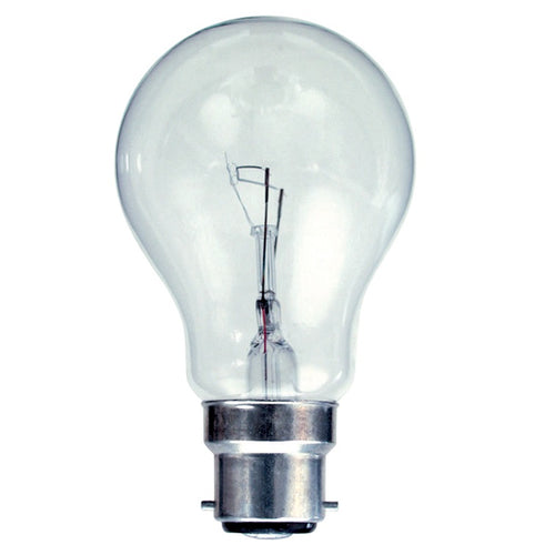 Gé 40 Watt Clear BC/B22 GLS Light Bulb