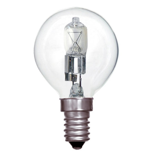 Philips 42w SES Clear Eco-Halogen Golfball Light Bulb
