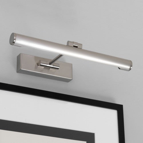 Goya 365 Brushed Nickel Picutre Light