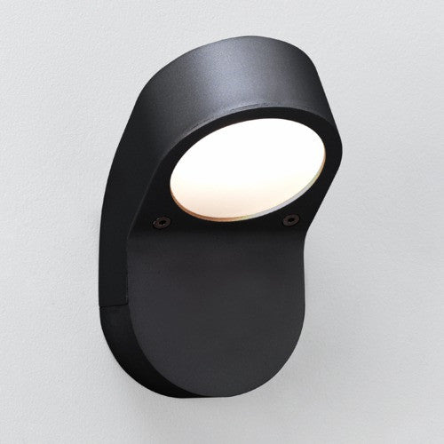 Soprano IP44 Black Outdoor Wall Light