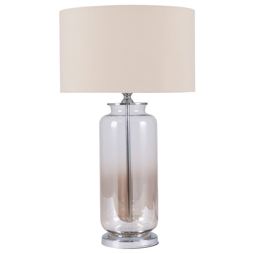 Lustre Ombre Glass Table Lamp