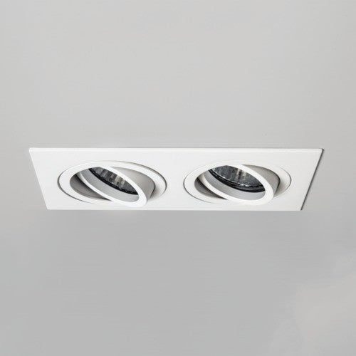 Taro Twin Fire Rated White Recessed Downlight (240v)