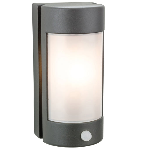 Arena Outdoor Graphite Wall Light with PIR Motion Sensor
