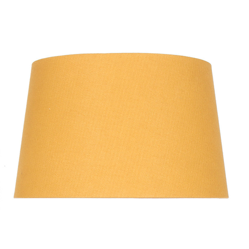 20cm Mustard Loom Tapered Cylinder Shade