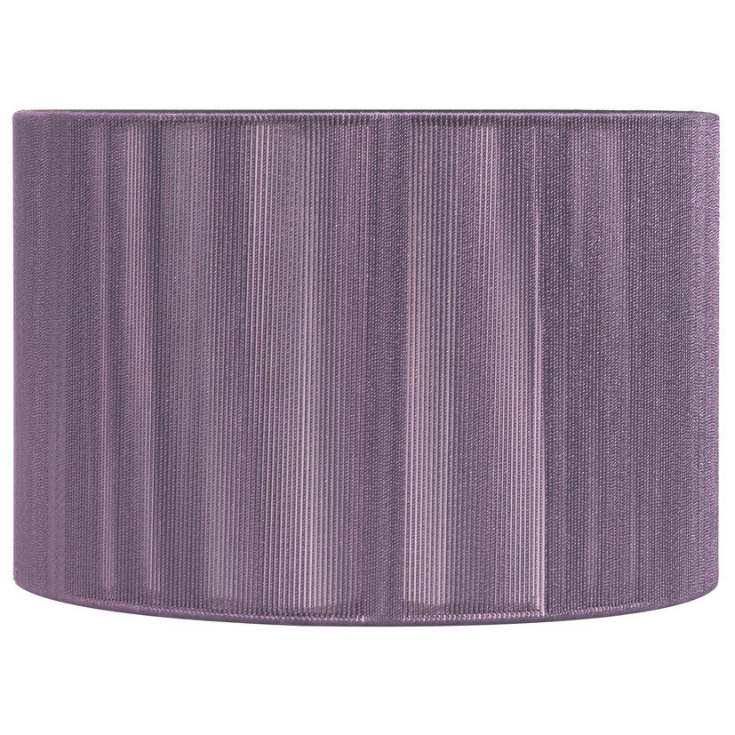 20cm Purple Silky String Drum Shade