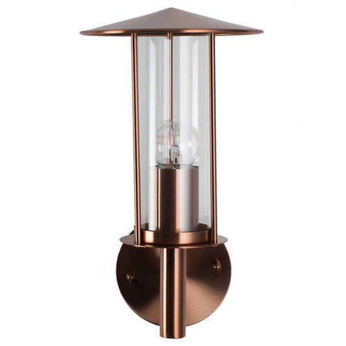 Copper Outdoor Chimney Wall Light