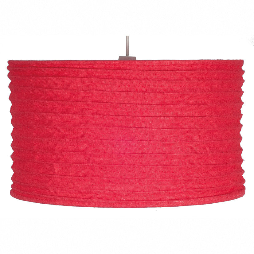 35cm Red Jute East Fit Pendant