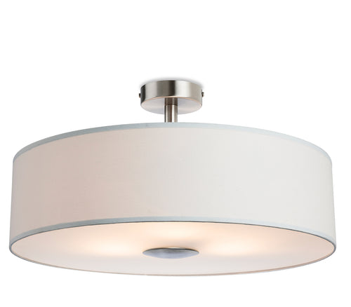 Madison Semi Flush Fitting Cream