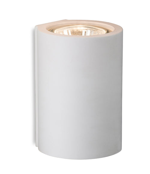 Wells Single Plaster Wall Light