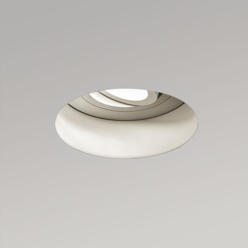 Trimless Round Adj. Fire-Rated Downlight