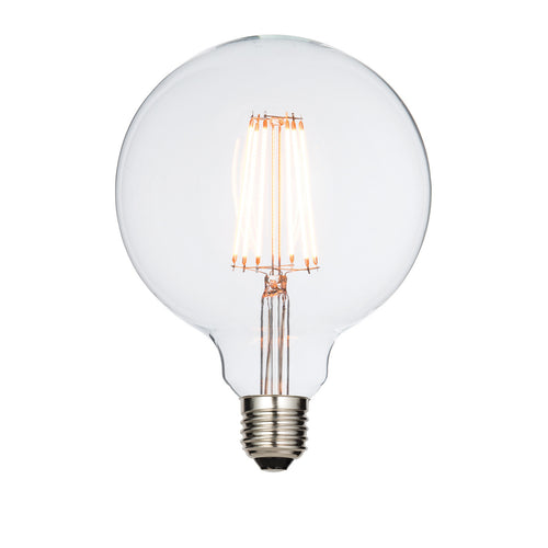 Saxby 6w E27 Warm White LED 125mm Globe