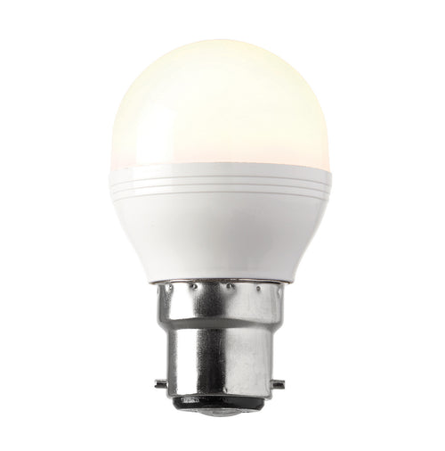 Saxby 6.2w B22 Dimmable LED Golfball