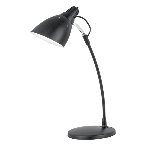 TOP DESK Reading Table Lamp Black