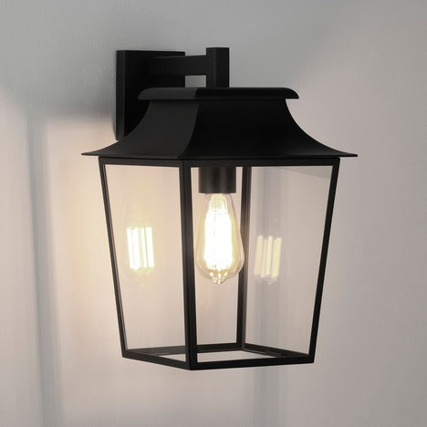 Richmond Wall Lantern 254 - Textured Black