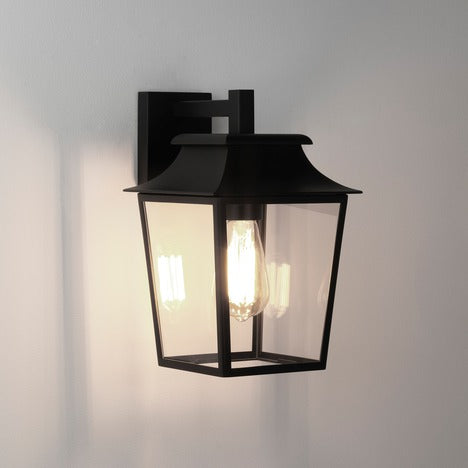 Richmond Wall Lantern 200 - Textured Black