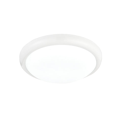 Montana 330mm Round Flush Ceiling Light LED 15W White