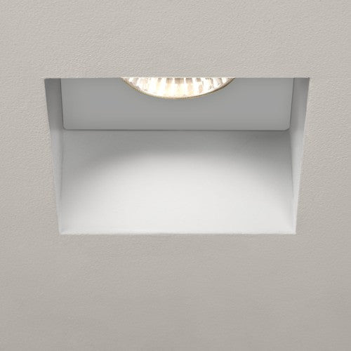 Trimless Square Fire Rated Recessed Downlight (240v)