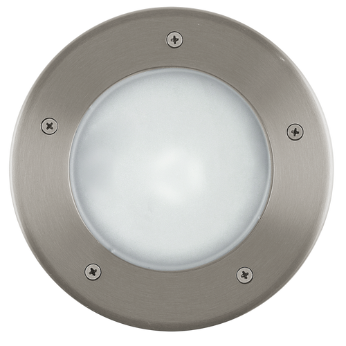 Riga 3 Outdoor Recessed Ground Light Stainless Steel