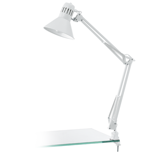 FIRMO Reading Table Lamp Shiny White