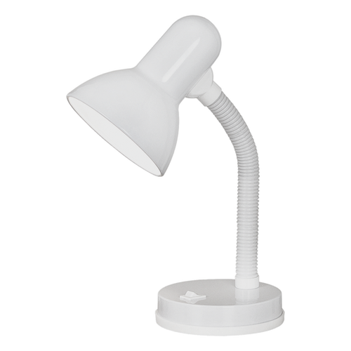 BASIC Reading Table Lamp White