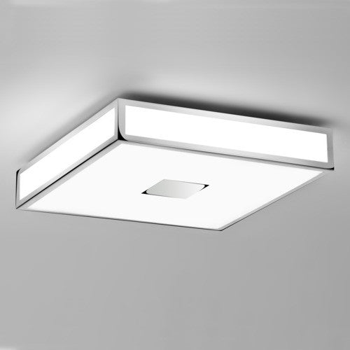 Mashiko 400 Chrome Bathroom Ceiling Light
