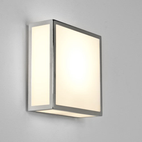 Mashiko 200 Chrome Bathroom Ceiling Light