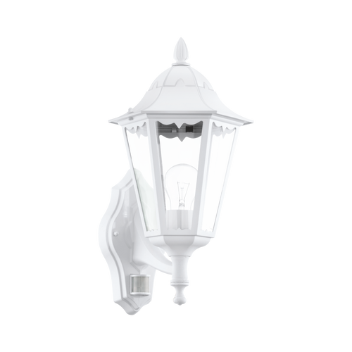 NAVEDO Outdoor Security Wall Light White
