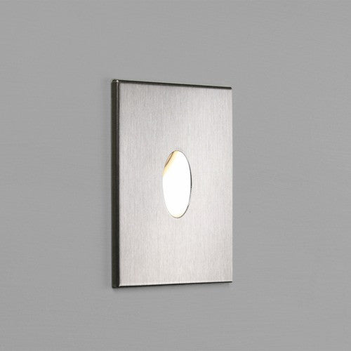 Tango Stainless Steel Recessed LED Wall Light