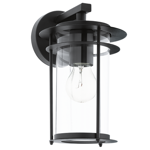 VALDEO Outdoor Wall Light Black