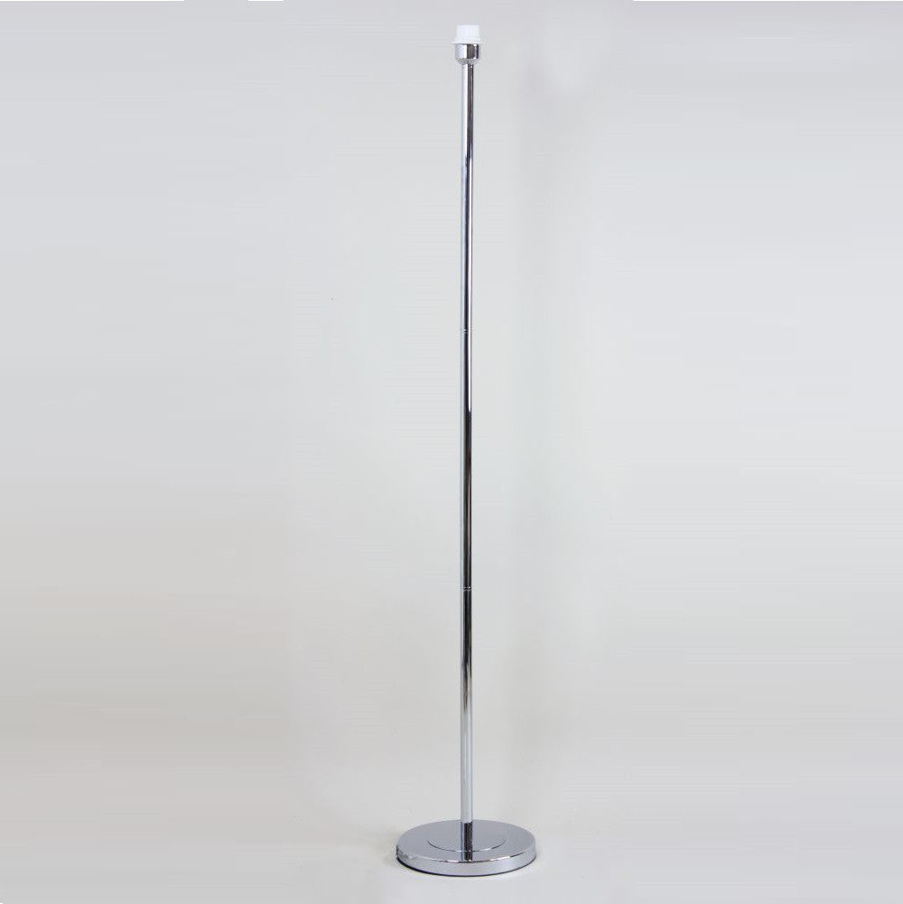 Belford chrome floor lamp base only lightinguk belford chrome floor lamp base only mozeypictures