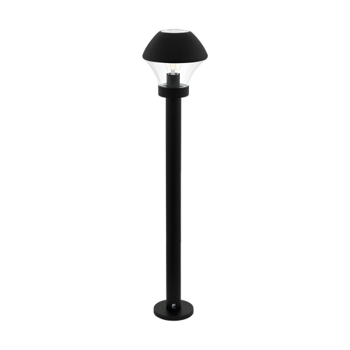 Verlucca 1 Light Outdoor Post Light Black