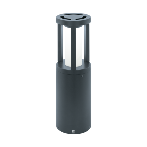 Gisola Outdoor LED Pedestal Light Anthracite