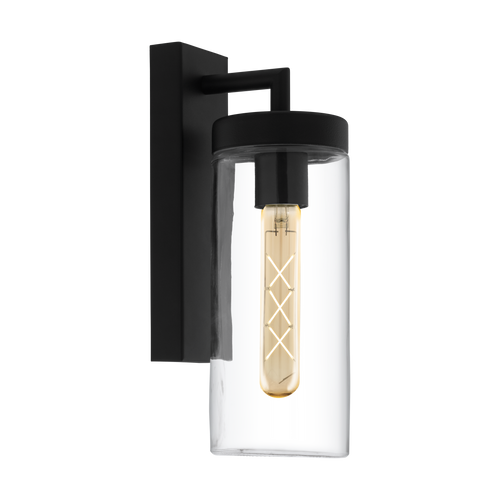 Bovolone 1 Light Outdoor Wall Light Black