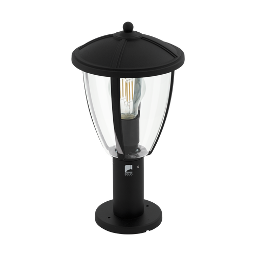 Comunero 2 1 Light Outdoor Post Light Black