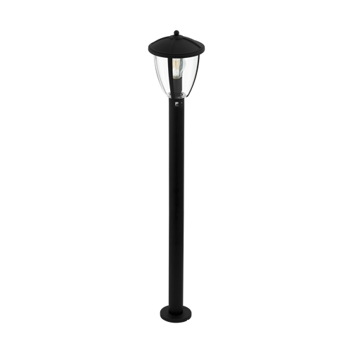 Comunero 2 1 Light Outdoor Floor Lamp Black