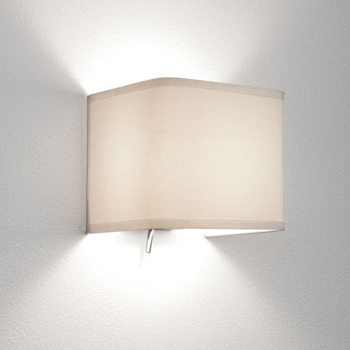 Ashino Switched Fabric Wall Light